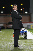 Billy Reid in the St Mirren v Hamilton Academical Scottish Communities League Cup match played at St Mirren Park, Paisley on 25.9.12.