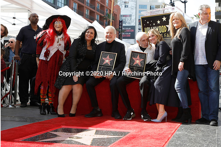 LOS ANGELES - FEB 13:  Rana Ghadban, Sid Krofft, Marty Krofft, Maureen McCormick, Christopher Knight, Susan Olsen at the Sid and Marty Kroft Star Ceremony on the Hollywood Walk of Fame on February 13, 2019 in Los Angeles, CA