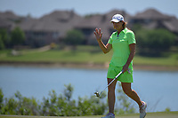 Juli Inkster (USA) after barely missing her long birdie putt on 2 during round 2 of  the Volunteers of America LPGA Texas Classic, at the Old American Golf Club in The Colony, Texas, USA. 5/6/2018.<br /> Picture: Golffile | Ken Murray<br /> <br /> <br /> All photo usage must carry mandatory copyright credit (&copy; Golffile | Ken Murray)
