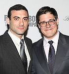 "Morgan Spector & Rich Sommer.pictured at the Opening Night After Party for the Roundabout Theatre Company's Broadway Production of  ""Harvey"" at Studio 54 New York City June 14, 2012"