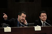 Salvini e Conte per il cinquecentenario di Leonardo Da Vinci