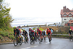Action from Stage 2 of the 2019 ASDA Tour de Yorkshire Women's Race, running 132km from Bridlington to Scarborough, Yorkshire, England. 4th May 2019.<br /> Picture: ASO/SWPix | Cyclefile<br /> <br /> All photos usage must carry mandatory copyright credit (© Cyclefile | ASO/SWPix)