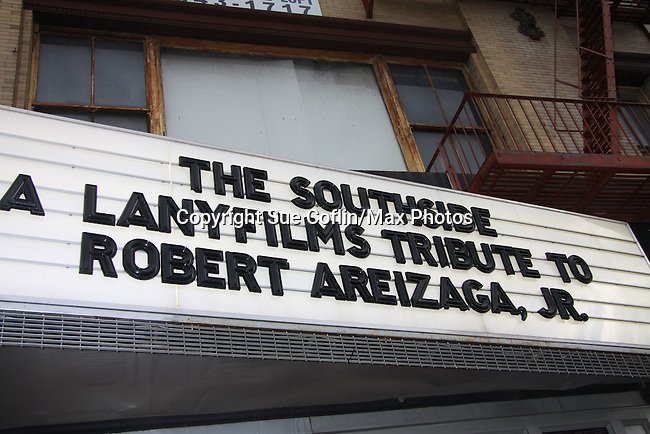 """Billboard at The private Industry Screening of """"The Southside"""", A Lany Film Tribute to Robert Areizaga, Jr. on February 27, 2012 at Tribeca Cinemas, New York City, New York.  (Photo by Sue Coflin/Max Photos)"""