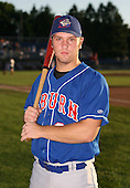 2007:  Chris Haupt of the Auburn Doubledays poses for a photo prior to a game vs. the Batavia Muckdogs in New York-Penn League baseball action.  Photo copyright Mike Janes Photography 2007.