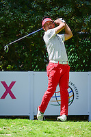 Yuta Ikeda (JPN) watches his tee shot on 4 during round 2 of the World Golf Championships, Mexico, Club De Golf Chapultepec, Mexico City, Mexico. 3/3/2017.<br />