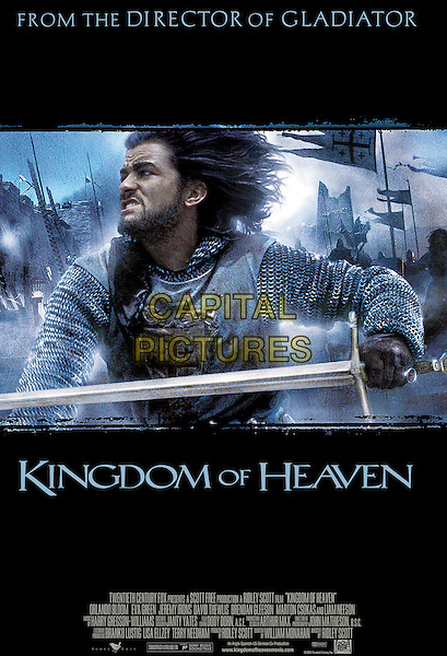 POSTER ART.in Kingdom of Heaven.*Editorial Use Only*.www.capitalpictures.com.sales@capitalpictures.com.Supplied by Capital Pictures.