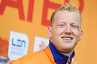 WEERTMAN Ferry NED gold medal European Champion<br /> Hoorn, Netherlands <br /> LEN 2016 European Open Water Swimming Championships <br /> Open Water Swimming<br /> Men's 10km<br /> Day 01 10-07-2016<br /> Photo Giorgio Perottino/Deepbluemedia/Insidefoto