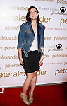 LOS ANGELES, CA. - October 22: Actress Mandy Moore  arrives at the Peter Alexander Flagship Boutique Grand Opening And Benefit on October 22, 2008 in Los Angeles, California.
