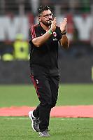 Milano 27-08-2017 Stadio Giuseppe Meazza in San Siro Calcio Serie A 2017/2018 Milan - Cagliari Foto Imagesport/Insidefoto <br /> nella foto: Gennaro Gattuso