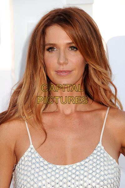 Poppy Montgomery.CBS, CW, Showtime 2012 Summer TCA Party held at The Beverly Hilton Hotel, Beverly Hills, California, USA..July 29th, 2012.headshot portrait white  .CAP/ADM/BP.©Byron Purvis/AdMedia/Capital Pictures.