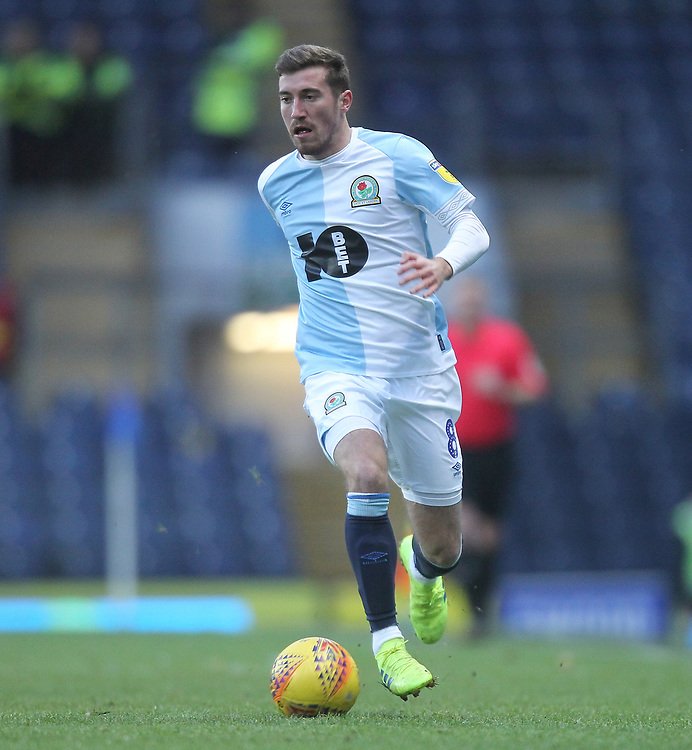 Blackburn Rovers Joe Rothwell <br /> <br /> Photographer Mick Walker/CameraSport<br /> <br /> The EFL Sky Bet Championship - Blackburn Rovers v Bristol City - Saturday 9th February 2019 - Ewood Park - Blackburn<br /> <br /> World Copyright &copy; 2019 CameraSport. All rights reserved. 43 Linden Ave. Countesthorpe. Leicester. England. LE8 5PG - Tel: +44 (0) 116 277 4147 - admin@camerasport.com - www.camerasport.com