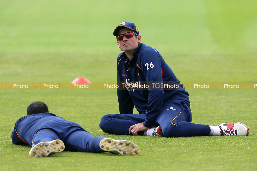 Alastair Cook of Essex looks on ahead of Worcestershire CCC vs Essex CCC, Specsavers County Championship Division 1 Cricket at Blackfinch New Road on 11th May 2018
