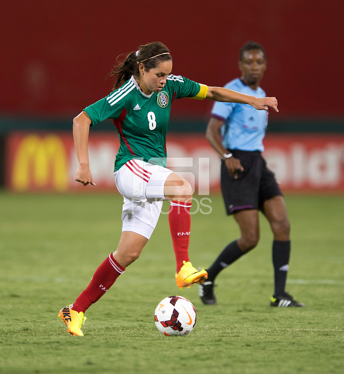 Lupita Worbis. The USWNT defeated Mexico, 7-0, during an international friendly at RFK Stadium in Washington, DC.  The USWNT defeated Mexico, 7-0.