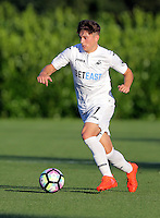 Pictured: Daniel James of Swansea 15 August 2016<br /> Re: Swansea City FC U23 v West Bromwich Albion at Landore training ground, Swansea, Wales, UK