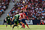 Atletico de Madrid's Jose Maria Gimenez and SD Eibar's Marc Cardona during La Liga match. September 15, 2018. (ALTERPHOTOS/A. Perez Meca)