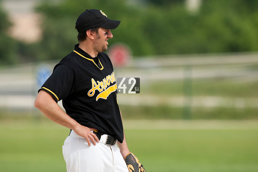 21 May 2009: Yoann Bernard of Clermont-Ferrand is seen during the 2009 challenge de France, a tournament with the best French baseball teams - all eight elite league clubs - to determine a spot in the European Cup next year, at Montpellier, France.