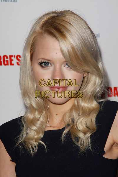 Hetti Bywater.The 'St George's Day' world film premiere, Odeon Covent Garden cinema, Shaftesbury Avenue, London, England..August 29th, 2012.headshot portrait black  .CAP/AH.©Adam Houghton/Capital Pictures.