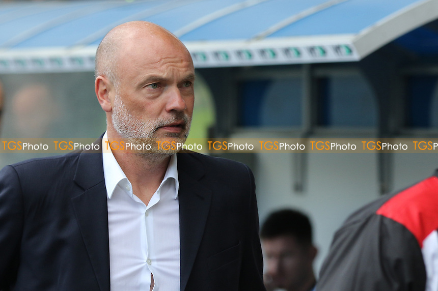 Fleetwood Town Manager, Uwe Rosler during Millwall vs Fleetwood Town, Sky Bet EFL League 1 Football at The Den on 22nd October 2016