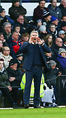 9th February 2019, Pride Park, Derby, England; EFL Championship football, Derby Country versus Hull City;  Hull City manager Nigel Adkins shouts instructions to his players