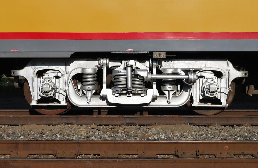 Train Wheel Suspension