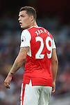 Arsenal's Granit Xhaka in action during the Premier League match at the Emirates Stadium, London. Picture date September 24th, 2016 Pic David Klein/Sportimage
