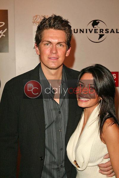 Steve Howie and Sarah Shahi
