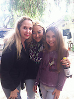 Jenise Blanc, Jennifer Blanc, Caitlin Carmichael<br />