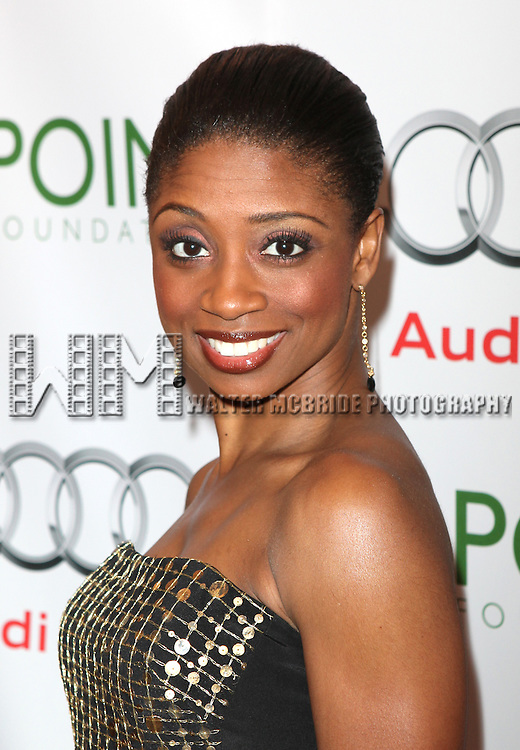 Montego Glover.attending the Point Foundation's Fourth Annual Gala - Point Honors New York in New York City.