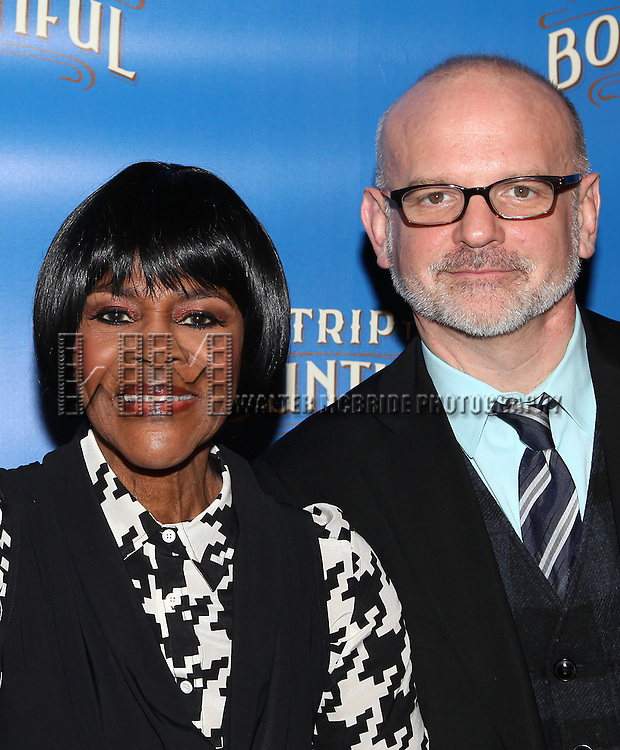 Cicely Tyson & Michael Wilson attending the Meet & Greet the cast of 'The Trip To Bountiful' at Sardi's Restaurant in New York City on 3/11/2013