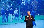 AMERSFOORT - Dommel voorzitter Jan van Opstal. Nationaal Golf Congres & Beurs (Het Juiste Spoor) van de NVG.     © Koen Suyk.