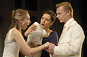 Iphigenia at Aulis by Euripides,directed by Katie Mitchell.With Hattie Morahan Kate Duchene , Ben Daniels  .Opens at the Lyttleton Theatre on 22/6/04 CREDIT Geraint Lewis
