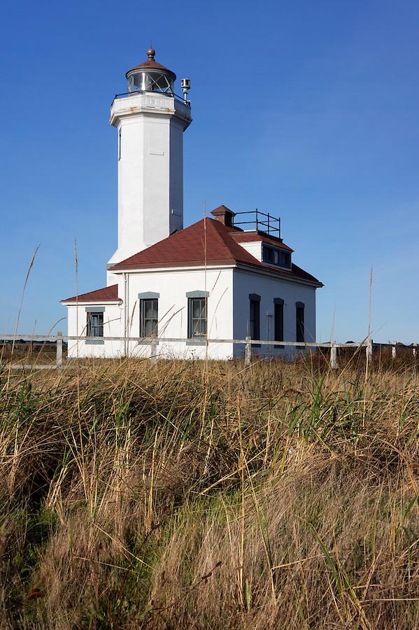 Point Wilson Lighthouse, Port Townsend, Washington, USA