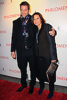 "NEW YORK, NY - NOVEMBER 12: Peter Hermann, Mariska Hargitay at the New York Premiere Of The Weinstein Company's ""Philomena"" held at Paris Theater on November 12, 2013 in New York City. (Photo by Jeffery Duran/Celebrity Monitor)"