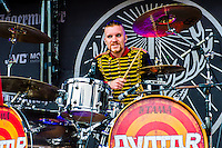 Avatar performing on Day 2 of Rock On The Range at Crew Stadium, Columbus, Ohio, May 17th, 2014. Photo Credit: RTNSchwegler/MediaPunch