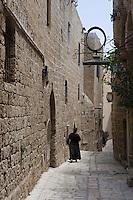 Asie/Israel/Tel-Aviv-Jaffa/Veux Jaffa: ruelle du quartier des artistes