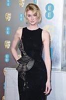 Elizabeth Debecki<br /> arriving for the BAFTA Film Awards 2019 at the Royal Albert Hall, London<br /> <br /> ©Ash Knotek  D3478  10/02/2019