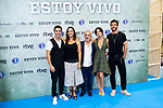 Alejo Sauras, Cristina Plazas, Javier Gutierrez, Anna Castillo and Alfonso Bassave attends to presentation of 'Estoy Vivo' during FestVal in Vitoria, Spain. September 04, 2018. (ALTERPHOTOS/Borja B.Hojas)