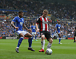 Mark Duffy of Sheffield Utd during the championship match at St Andrews Stadium, Birmingham. Picture date 21st April 2018. Picture credit should read: Simon Bellis/Sportimage