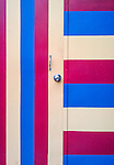 Stripes both ways - Door in Marrickville, Sydney, Australia