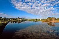 Mündung des Rio Nagua östlich von Nagua, Dominikanische Republik