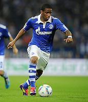 FUSSBALL   EUROPA LEAGUE   SAISON 2011/2012   Play-offs FC Schalke 04 - HJK Helsinki                                25.08.2011 Jefferson FARFAN (FC Schalke 04)