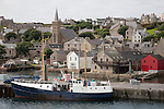 Stromness on the Orkney Islands, Scotland
