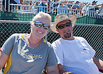 Stacy and Ian Thaler, from Henderson, NV at the Air Races at the Reno-Stead Airfield on Sunday, Sept. 20, 2015.