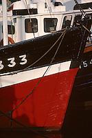 Europe/France/Bretagne/29/Finistère/Le Guilvinec: Bateau de pêche sur le port