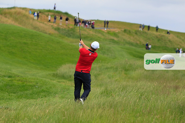 Andy Sullivan (ENG) on the 7th fairway during Round 3 of the 100th Open de France, played at Le Golf National, Guyancourt, Paris, France. 02/07/2016. <br /> Picture: Thos Caffrey | Golffile<br /> <br /> All photos usage must carry mandatory copyright credit   (&copy; Golffile | Thos Caffrey)