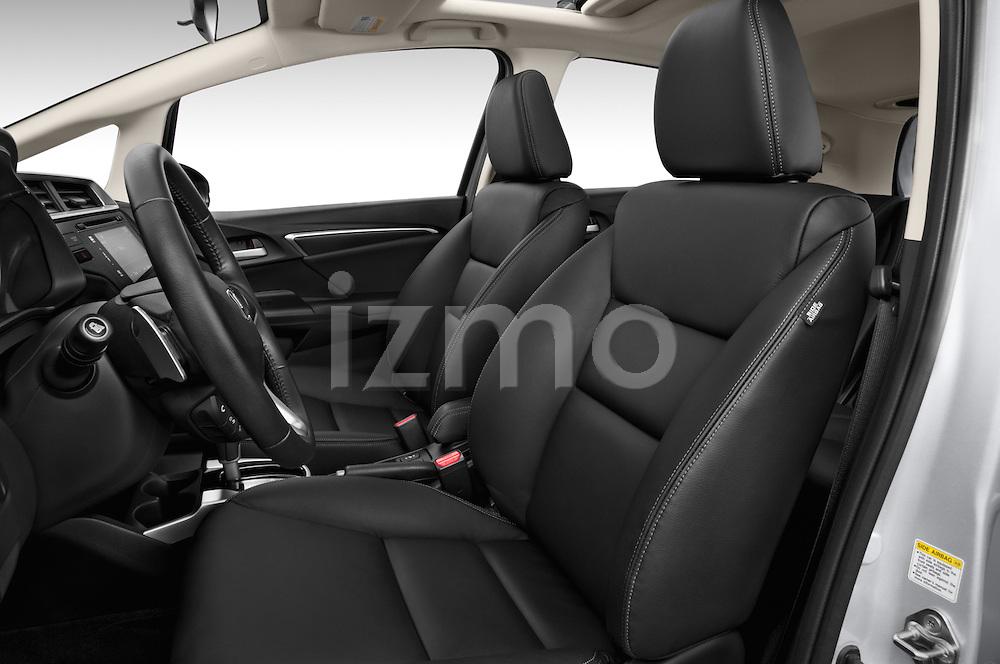 Front seat view of 2017 Honda Fit EX 5 Door Hatchback Front Seat  car photos