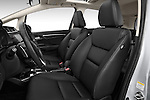 Front seat view of 2017 Honda Fit EX 5 Door Hatchback Front Seat  car photos