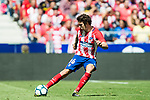 Sime Vrsaljko of Atletico de Madrid in action during the La Liga 2017-18 match between Atletico de Madrid and Sevilla FC at the Wanda Metropolitano on 23 September 2017 in Madrid, Spain. Photo by Diego Gonzalez / Power Sport Images
