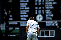 Wellington's Ben Sears prepares to bowl during day two of the Plunket Shield cricket match between the Wellington Firebirds and Central Districts at Basin Reserve in Wellington, New Zealand on Tuesday, 3 March 2020. Photo: Dave Lintott / lintottphoto.co.nz
