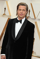 09 February 2020 - Hollywood, California - Brad Pitt. 92nd Annual Academy Awards presented by the Academy of Motion Picture Arts and Sciences held at Hollywood & Highland Center. Photo Credit: AdMedia